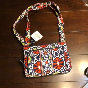 Vera Bradley Sun Valley Little Hipster Handbag
